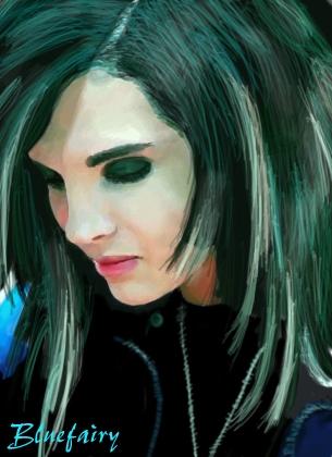 Bill Kaulitz by Bluefairy